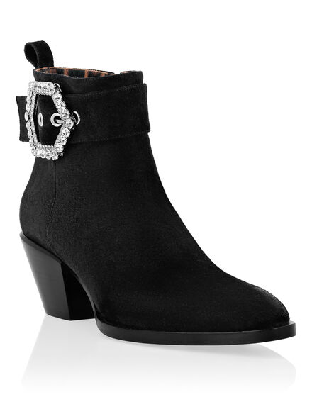 Boots Lo-Heels Mid Hexagon