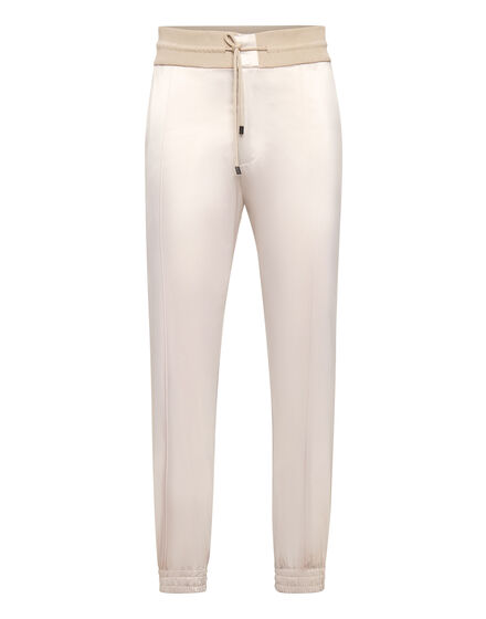 Satin Jogging Trousers Iconic Plein