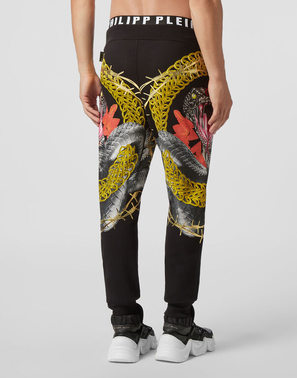 Jogging Trousers Foulard texture