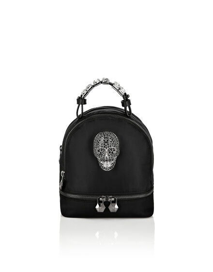 Nylon Backpack Skull