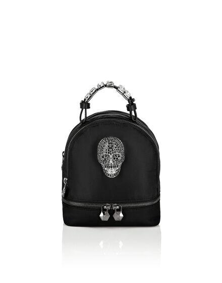 Nylon Backpack Skull