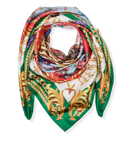 Foulard Green Baroque