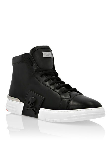 PHANTOM KICK$ Hi-Top Leather