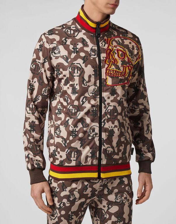 Jogging Jacket Camouflage Monogram