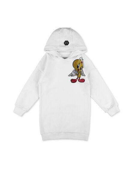 Jogging Hoodie Day Dress Looney Tunes