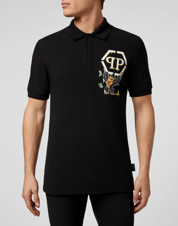 Polo shirt SS King Plein