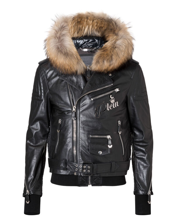 "Leather Jacket ""Hofu"""