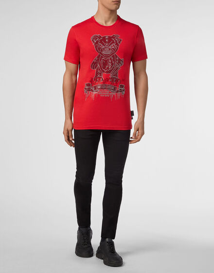 213e166c7 T-shirt Platinum Cut Round Neck Teddy Bear ...