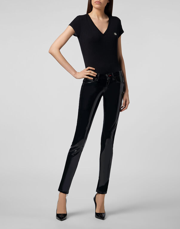 Slim fit Trousers Killer Latex