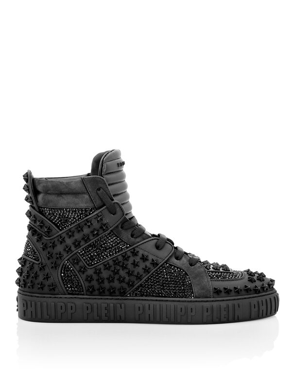 Hi-Top Sneakers Crystal