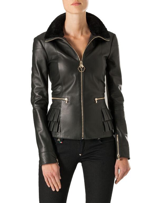 "Leather Jacket ""Little Italy"""