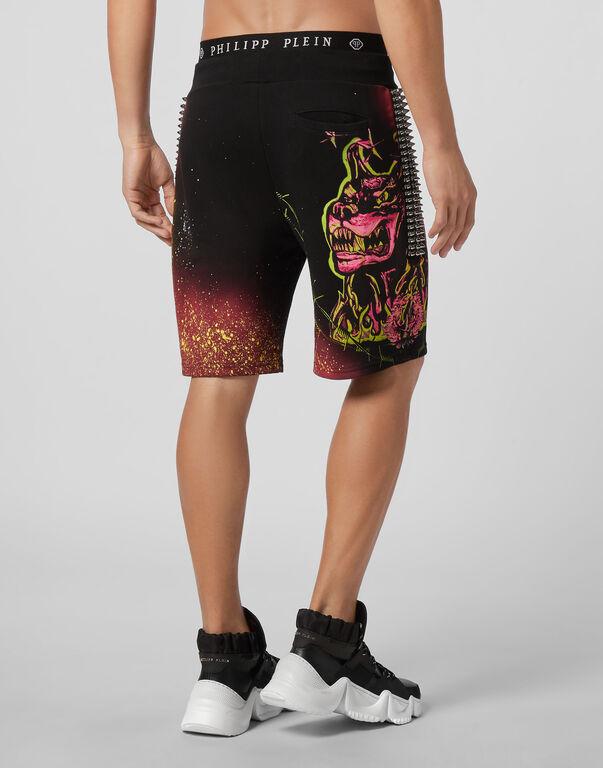 Jogging Shorts Gothic Plein