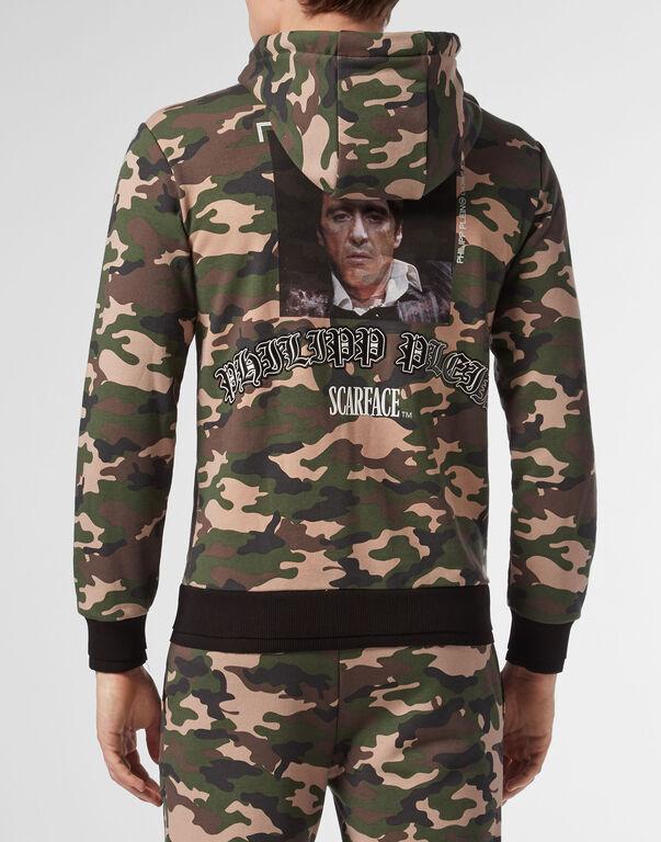 Hoodie Sweatjacket Scarface