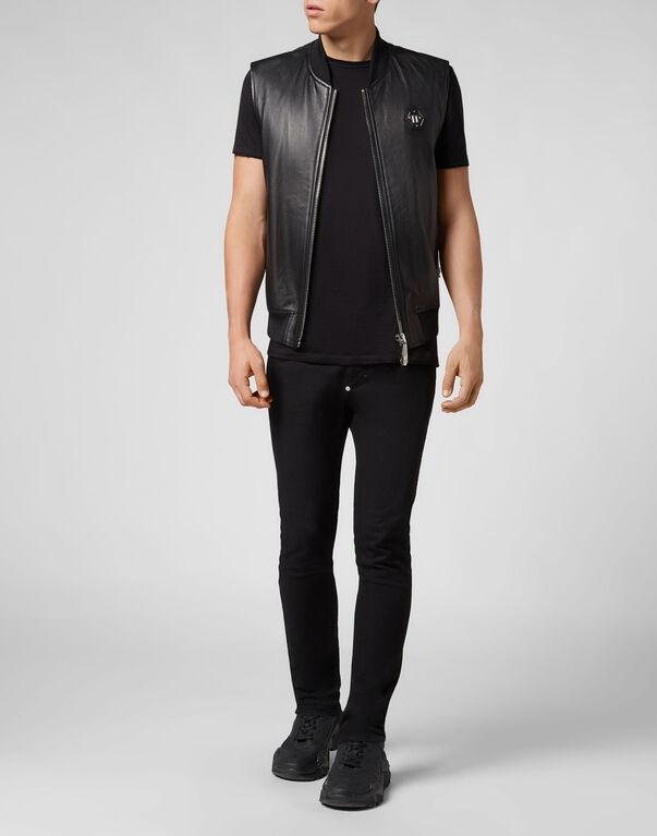 Leather Vest Short Original