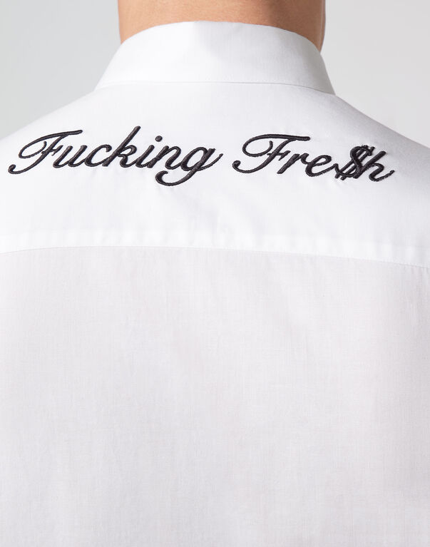 "Shirt Platinum Cut LS ""Fresh"" Fucking fresh"
