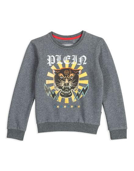 Sweatshirt LS Platin Light