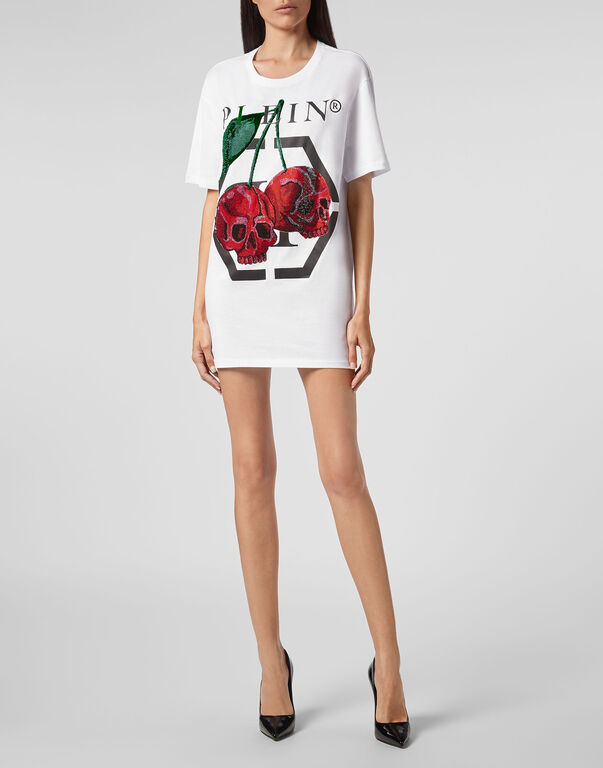 T-shirt Round Neck SS Cherries