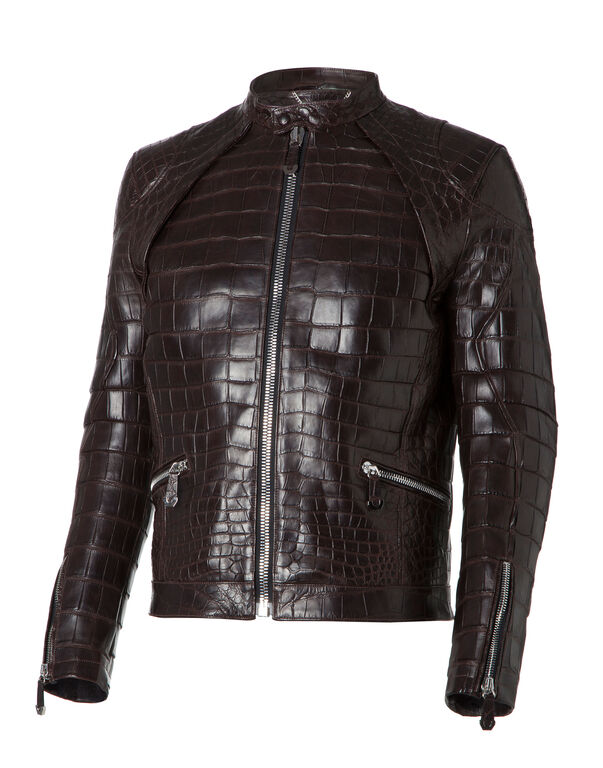 3df86a14680d Leather Bomber