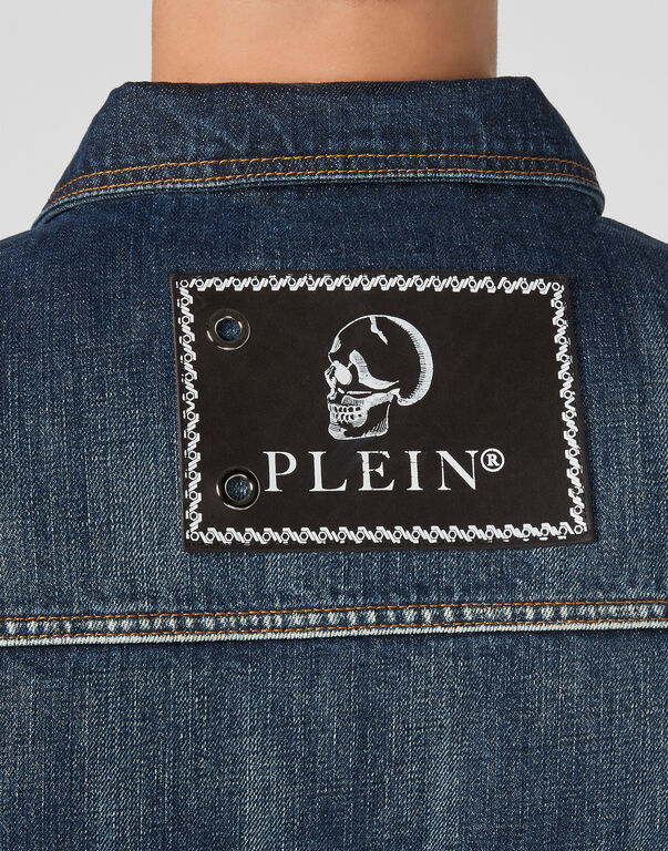 Denim Jacket Iconic Plein