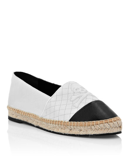 Leather Espadrillas Skull