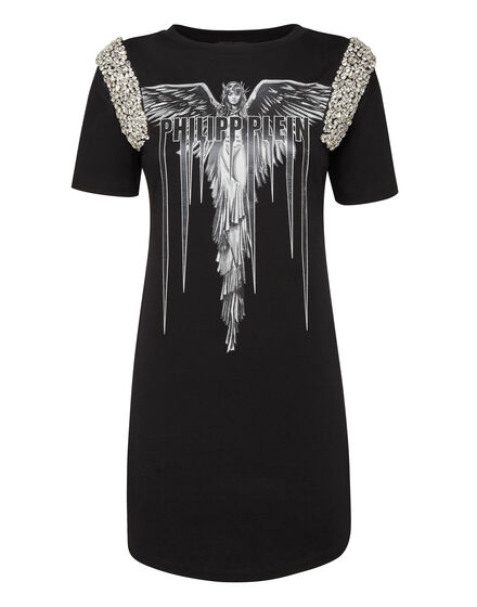 T-Shirt Short Dresses Angel