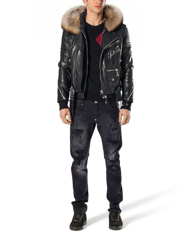 """Leather Jacket """"Hofu"""""""