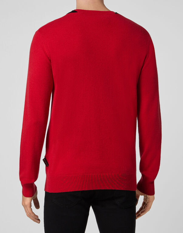 Pullover Round Neck LS Istitutional