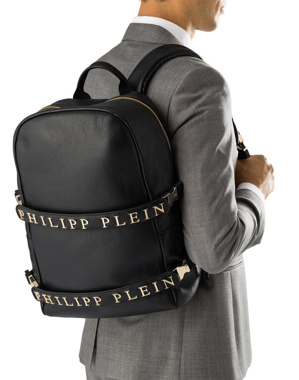 """backpack """"double stripe"""""""