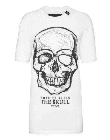 T-shirt Round Neck SS print Skull
