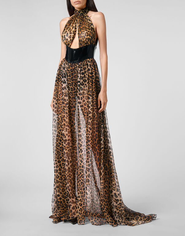 Long Dress Leopard