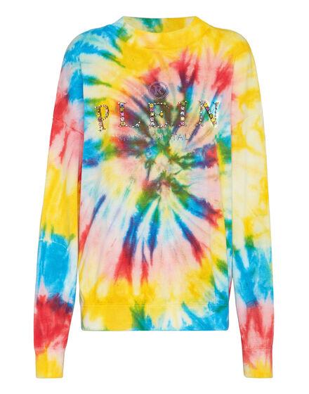 Pullover Round Neck LS  Tie dye