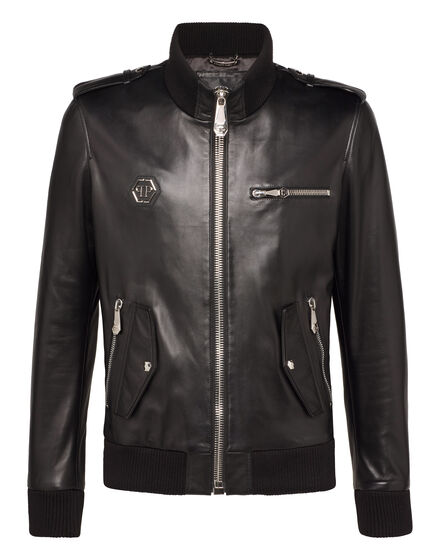 Leather Jacket Metal