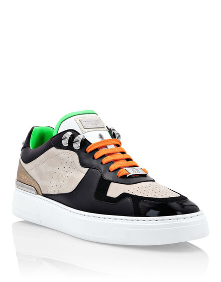 Lo-Top Sneakers mix leathers G.O.A.T. TM