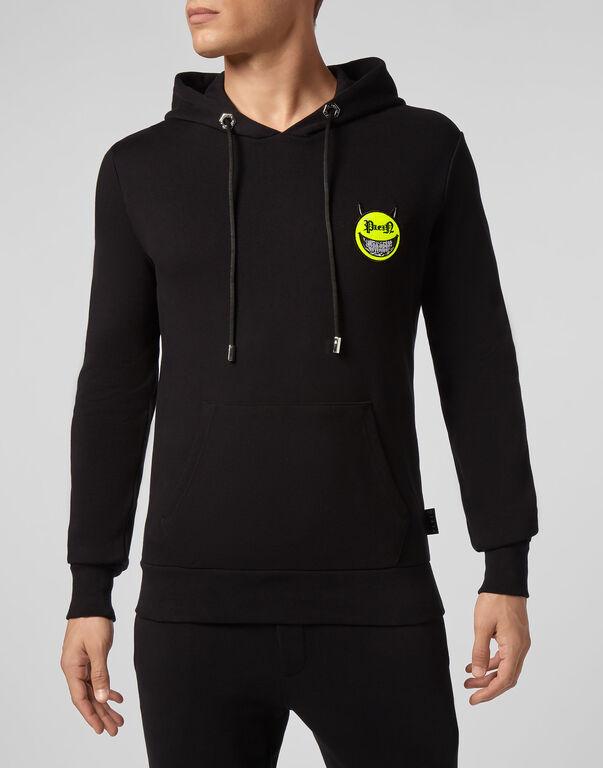 Hoodie sweatshirt Evil Smile