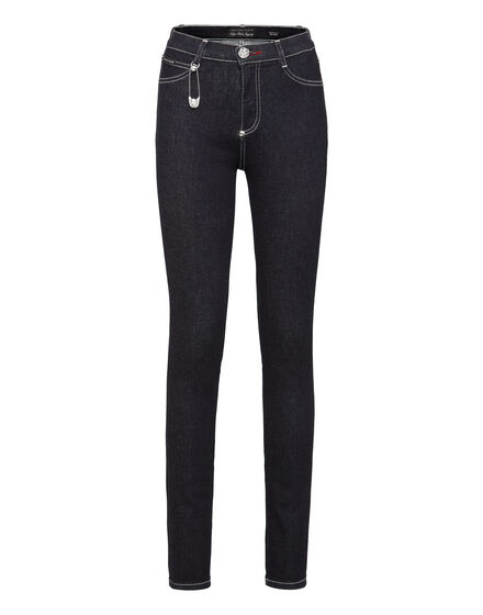 High Waist Jegging Pins Iconic Plein
