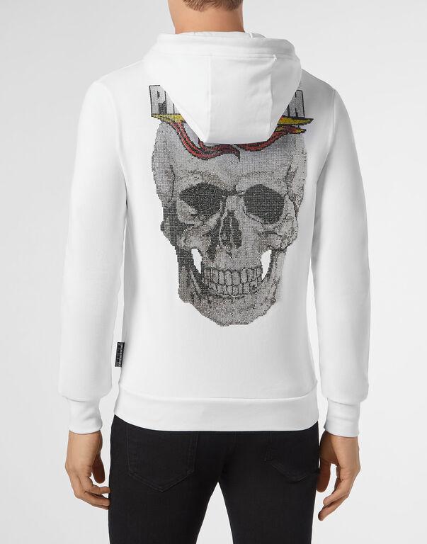 Hoodie Sweatjacket Flame