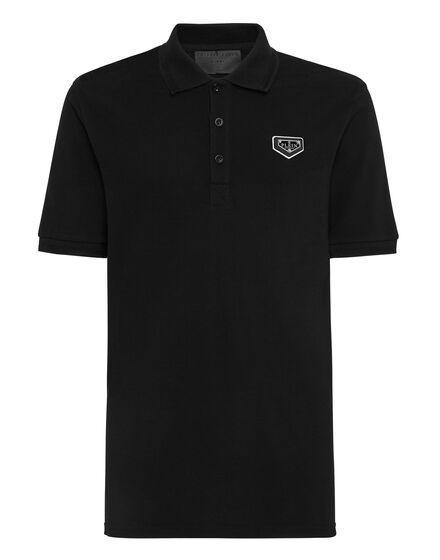 Polo shirt SS stones Hexagon