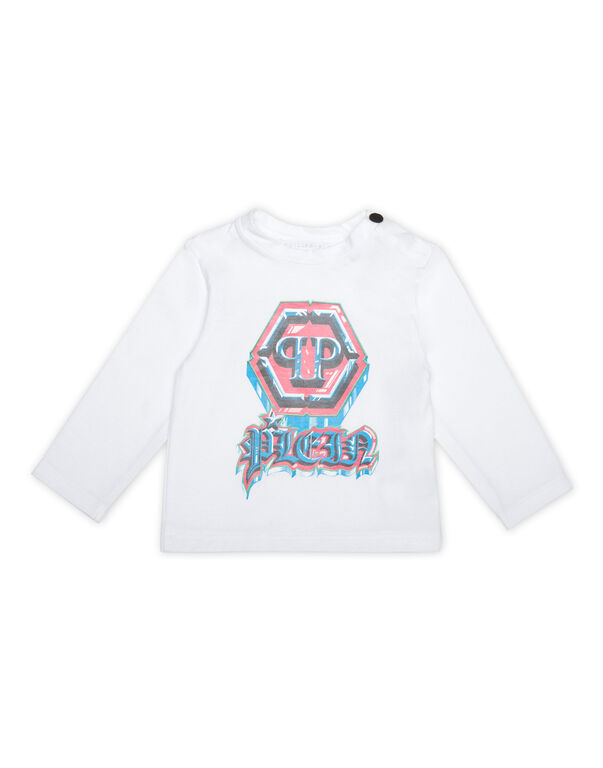 T-shirt Round Neck LS Graffiti