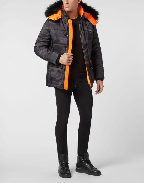 Nylon Jacket Camouflage Luxury