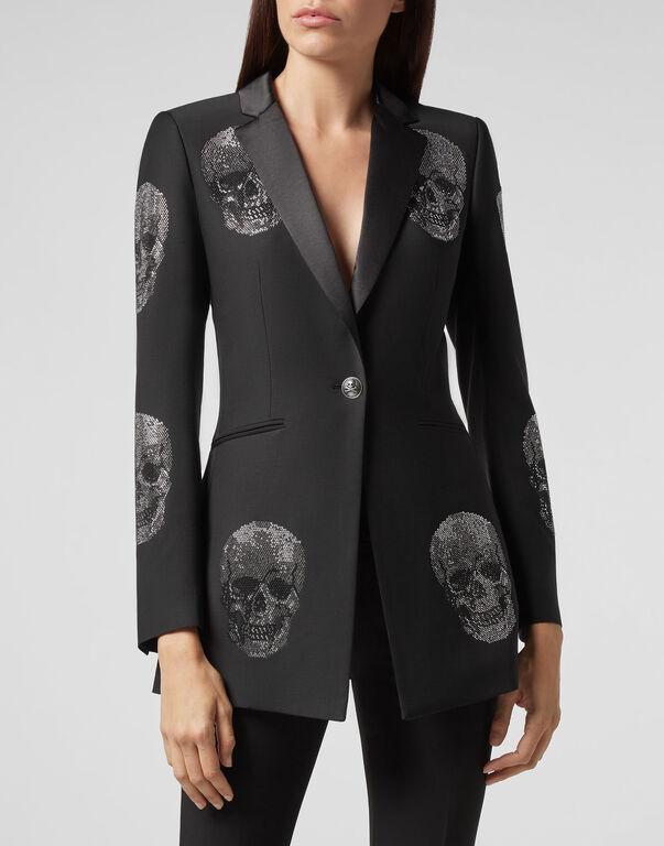 Coat Long Skull