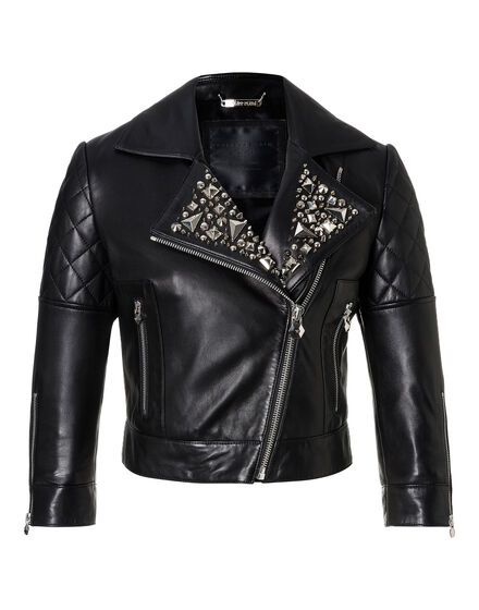 Leather Biker Kezia