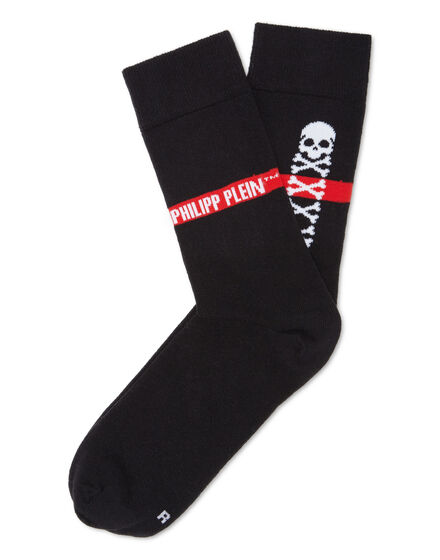 Socks Skull and Plein