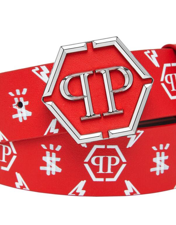 Belt hexagon PP Monogram