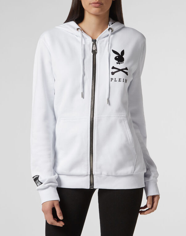 Hoodie Sweatjacket Playboy