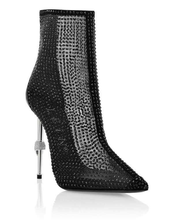 bootie high heels Crystal