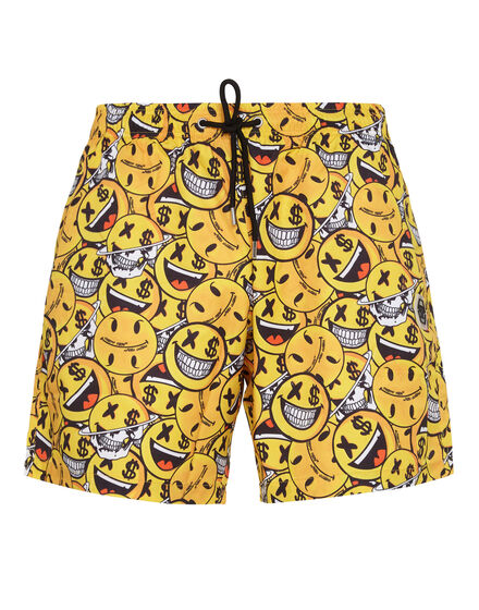 Beachwear Short Trousers All over Smile