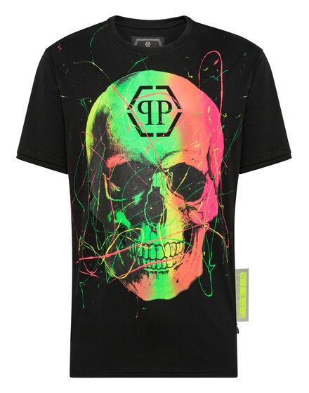 T-shirt Round Neck Skull