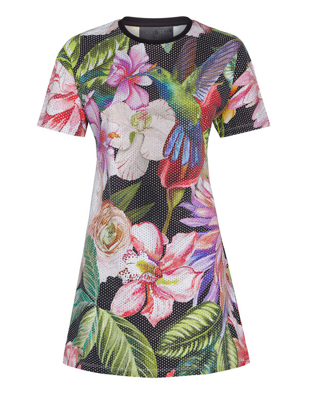 T-shirt Dresses Flowers