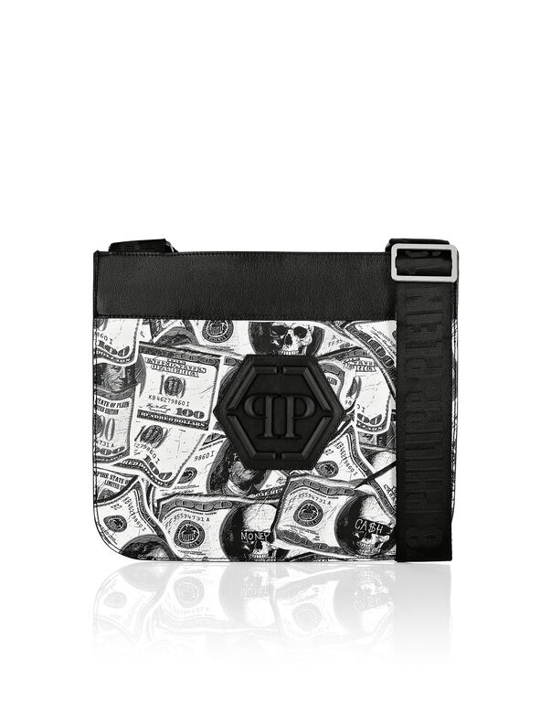 Cross body Hexagon Dollar