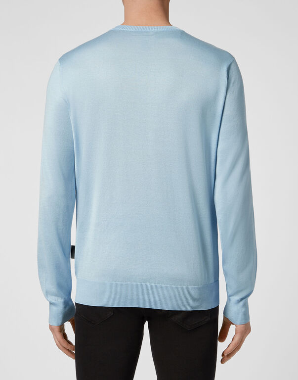 Pullover V-Neck LS Iconic Plein